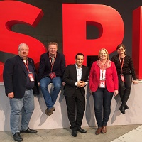 Duisburger SPD auf dem Bundesparteitag
