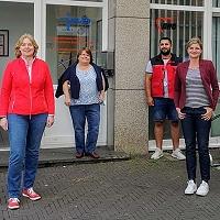 Die SPD im Austausch mit der AWO Integration über die Stadtteilarbeit in Hochfeld