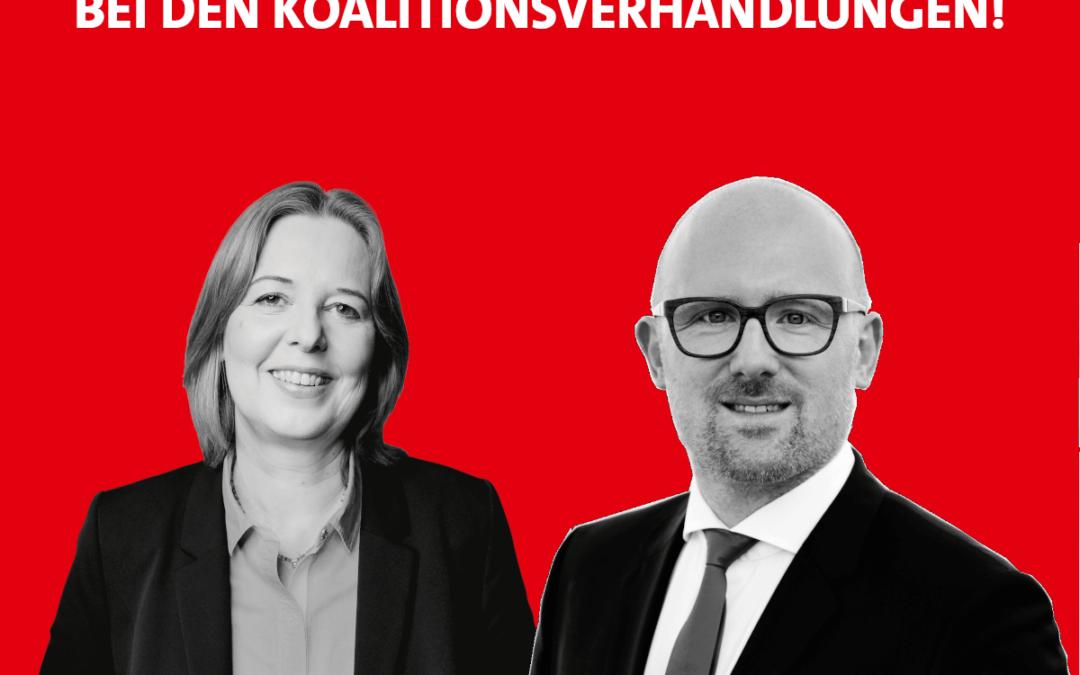 Starke Stimmen aus Duisburg verhandeln in Berlin